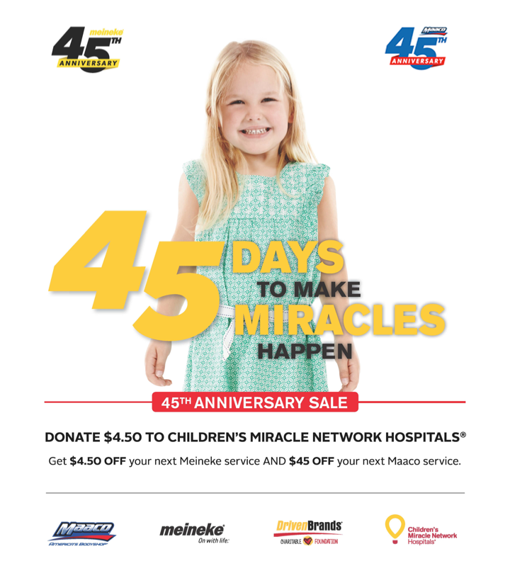 45 Days to Make Miracles Happen - 45th Anniversary Sale