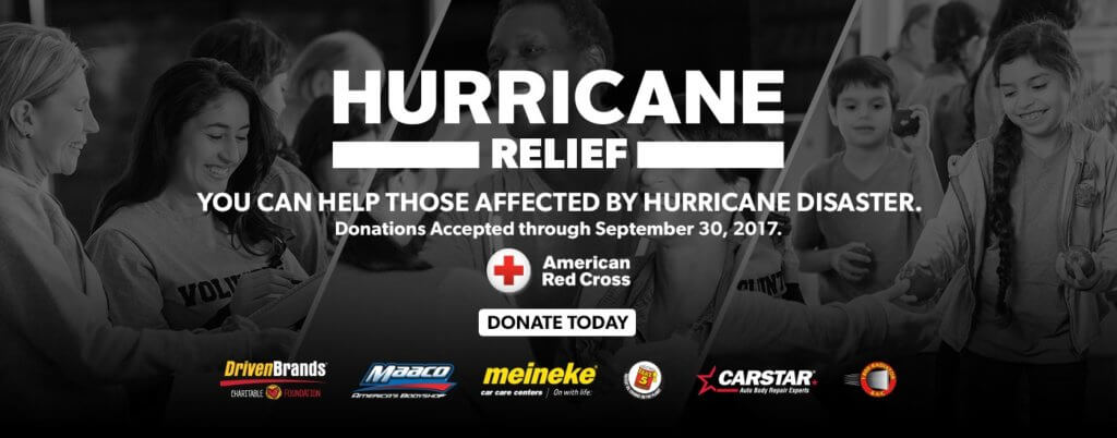 Driven Brands Charitable Foundation - Hurricane Relieft